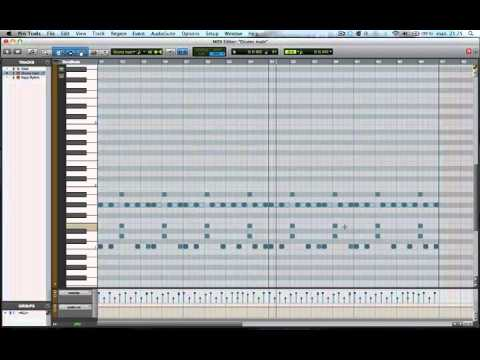 Making a beat in Pro Tools – Start to Finish