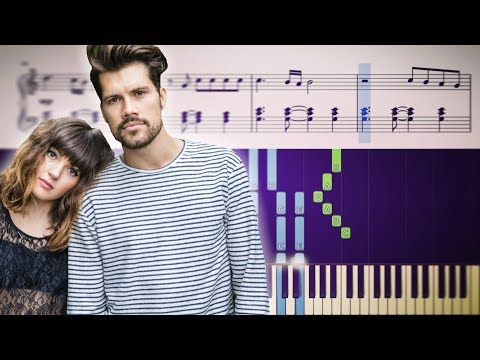 Oh Wonder - All We Do (Piano Tutorial) + SHEETS