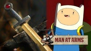 Finn's Golden Sword (Adventure Time) - MAN AT ARMS