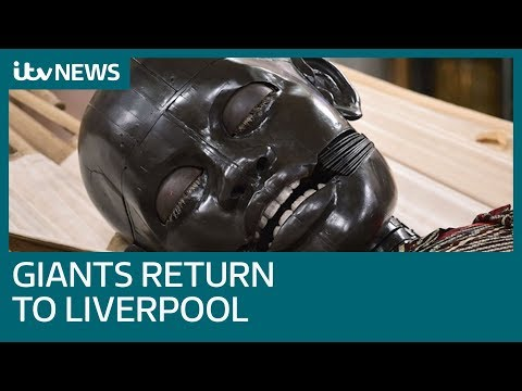 Giant Puppets Return To Liverpool For The Last Time | ITV News