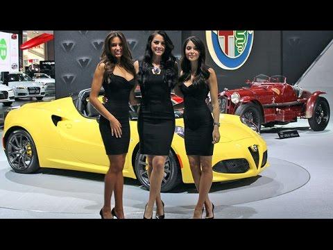 International Car Show Nyc Photoshoot