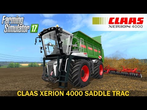 Claas Xerion 4000 Saddle Trac v1.0