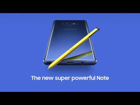 Galaxy Note 9  #UNPACKED
