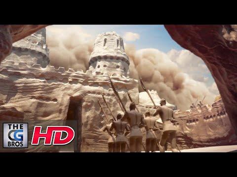 "CGI **Award-Winning** 3D Animated Short: ""Sand Castle (Chateau de Sable)"" - by ESMA"