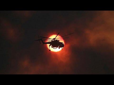 Δεκάδες τα πύρινα μέτωπα- Μάχη με τις φλόγες σε Ηλεία και Ζάκυνθο