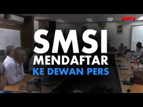 SMSI Mendaftar Ke Dewan Pers