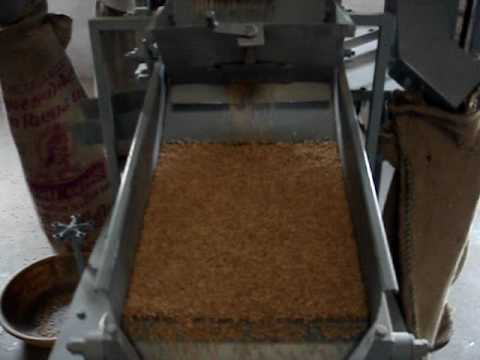 Seed Cleaning Machine - This Machine can clean any grains the capacity of this seed cleaner is is 200 kgs/hr to 1200 kgs/hr requires only 2 HP to 3 HP single phase electric motor .