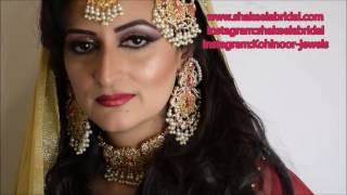 Pakistani bridal makeover by SHAKEELABRIDAL