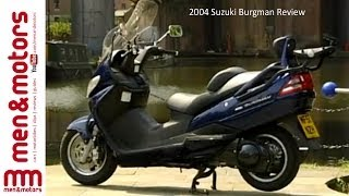 6. 2004 Suzuki Burgman Review