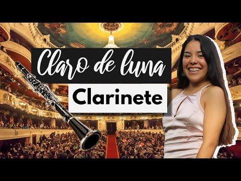 """Cómo tocar """"claro de luna """" en clarinete para principiantes"""