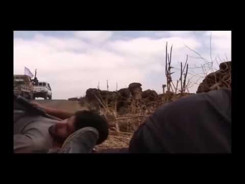 Конвой спец войск попал в засаду боевиков Бой Сирия - DomaVideo.Ru