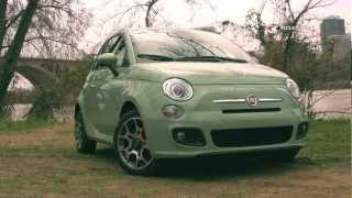 2012 Fiat 500 Test Drive&Car Review With Emme Hall By RoadflyTV