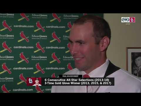 Paul Goldschmidt tells Jim Hayes: 'I'm excited'