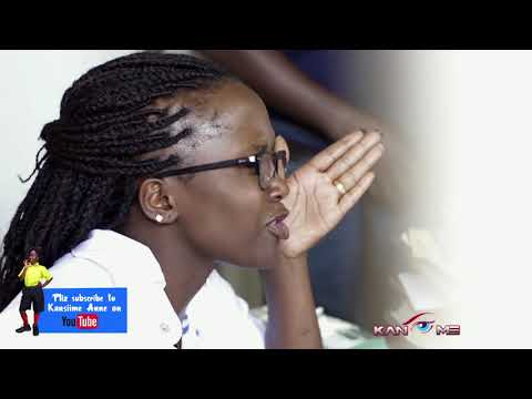 Gerald is pregnant again. Kansiime Anne. African comedy.