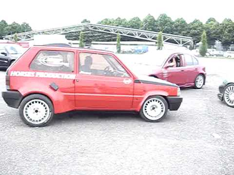 fiat panda prototipo 164