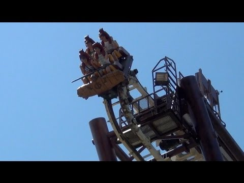 Gardaland - Follow us on Twitter @ThemeParkReview - One of the most BIZARRE roller coasters you'll ever see! Filmed & Edited by Robb Alvey - www.themeparkreview.com - Ri...