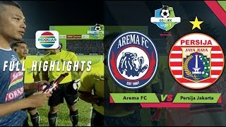 Video Arema FC (1) vs Persija Jakarta (1) - Full Highlights | Go-Jek Liga 1 Bersama BukaLapak MP3, 3GP, MP4, WEBM, AVI, FLV September 2018