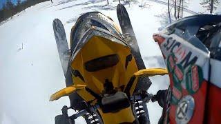 3. Testissä: Ski-doo Mxz Xrs 600 h.o etec