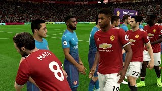 FIFA 18   Manchester United vs Arsenal - Full Gameplay (PS4/Xbox One)