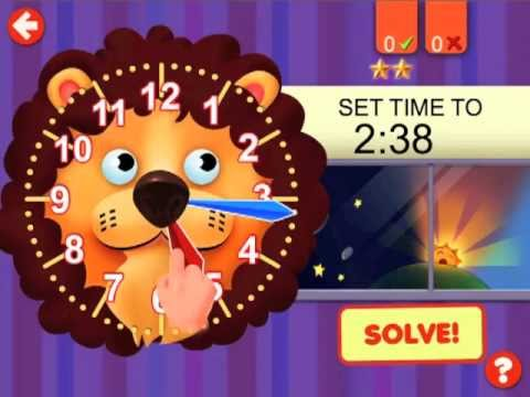 Video of Interactive Telling Time Free