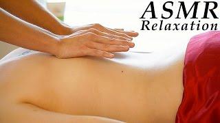 Relaxing ASMR Massage # 2 , Softly Spoken & Gentle Whisper Full Body Massage, Back Massage - YouTube