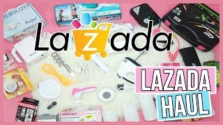 Video LAZADA HAUL : Ano bang mabibili sa Lazada?! | RealAsianBeauty download in MP3, 3GP, MP4, WEBM, AVI, FLV Mei 2017