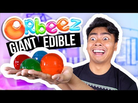 DIY GIANT EDIBLE ORBEEZ! How To Make