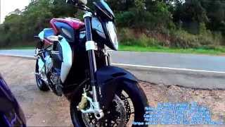 8. MV Agusta Brutale 800 #  0 a 100, 0 a 200 , Top Speed The Rocha Yamaha MT-09