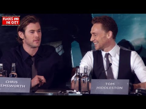 Why Loki Is Better Than Thor - Tom Hiddleston & Chris Hemsworth - Thor The Dark World