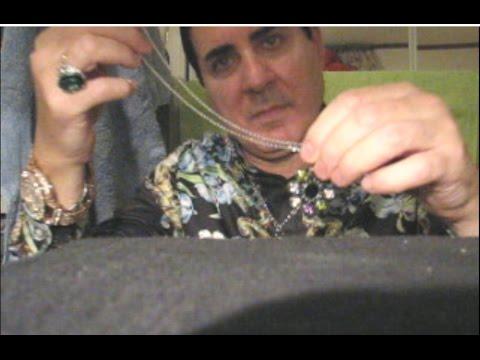 Male ASMR soft spoken designer jewelry sales--Bvlgari