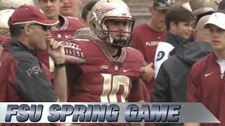 2015 Florida State Football Spring Game Highlights