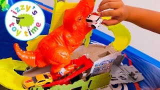 Hot Wheels Cars for Kids   Hot Wheels Pooping Dinosaur! Fun Videos for Kids and Children