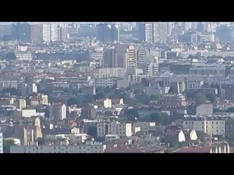 Paris et sa banlieue ouest vu d'Argenteuil