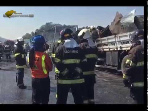 Incêndio deixa 22 pessoas feridas em Jacareí