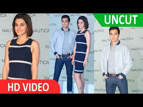 UNCUT -Tapsee Pannu & Rahul Khanna At Launch Of Nautica New Collection