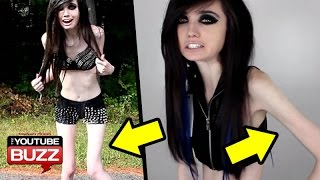 Anorexic YouTuber Eugenia Cooney Banned?There's a petition to ban Eugenia Cooney from YouTube temporarily.Reports say they want to ban Eugenia Cooney because she influences young viewers to have eating disorders. Is Eugenia Cooney Anorexic, and does she influence viewers to have eating disorders?--Music by DJ ViperVexxhttp://www.youtube.com/user/ViperVexX:::FOLLOW and FIND ME HERE:::Facebook: http://tinyurl.com/c4on5yhInstagram: http://www.instagram.com/keseankentonTwitter: http://tinyurl.com/mtvzb32Tumblr: http://tinyurl.com/q85lkwkGoogle+: http://tinyurl.com/kq3y88z