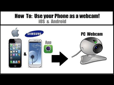 Как сделать из андроид веб камеру