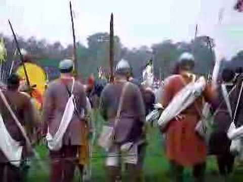 1066 battle of hastings. The build up to the Battle of