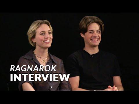 """Meet the """"Ragnarok"""" cast: Herman Tømmeraas & Theresa Frostad Eggesbø"""