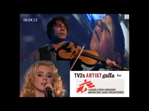"Alexander Rybak & Yohanna: ""Fields of Gold"" (Sting), 06.04.13."