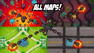 Playing 4 EXPERT Maps At The Same Time In Bloons TD6