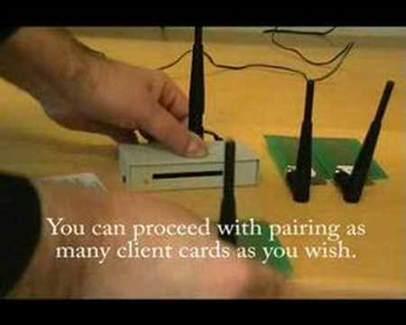 Re-pairing your client cards to Future Wireless Cardsplitter
