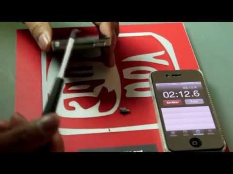 comment reparer le vibreur de l'iphone 4