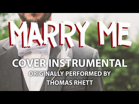 Video Marry Me (Cover Instrumental) [In the Style of Thomas Rhett] download in MP3, 3GP, MP4, WEBM, AVI, FLV January 2017