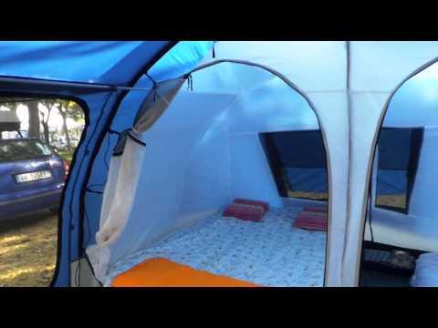 Tenda tour marco pesci  - open-air CONVER optima -