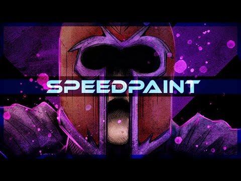 Magneto X Men Speedpaint on PSD - Thời lượng: 10 phút.