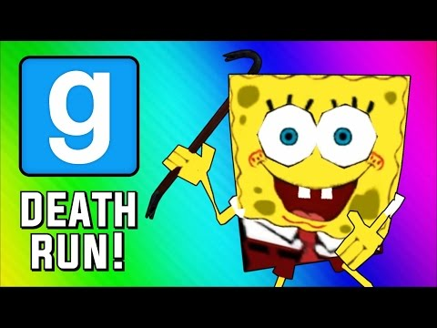 Gmod Deathrun – Spongebob Parody Map! (Garry's Mod Sandbox Funny Moments)