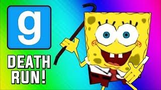 Gmod Deathrun - Spongebob Parody Map! (Garry's Mod Sandbox Funny Moments)