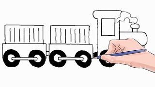 Easy step by step tutorial on how to draw a train, pause the video at every step to follow the steps carefully. Enjoy ;)- Facebook: https://www.facebook.com/HowtoDrawSimply