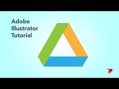 Adobe Illustrator Tutorial | Google Drive Logo Design